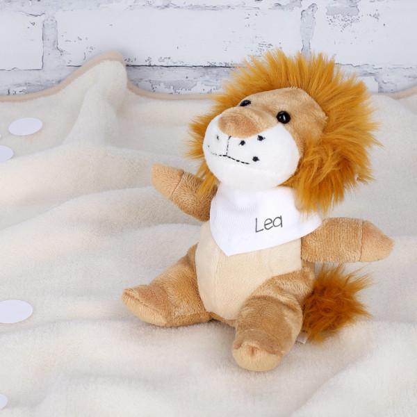 Kuschel Löwe mit eigenem Halstuch