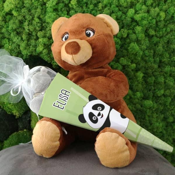 Panda Zuckertüte für Geschwister