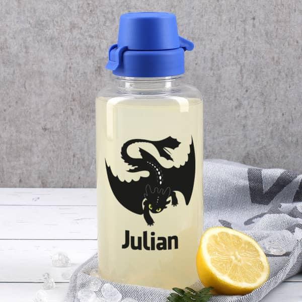 Drachen - Trinkflasche mit Name
