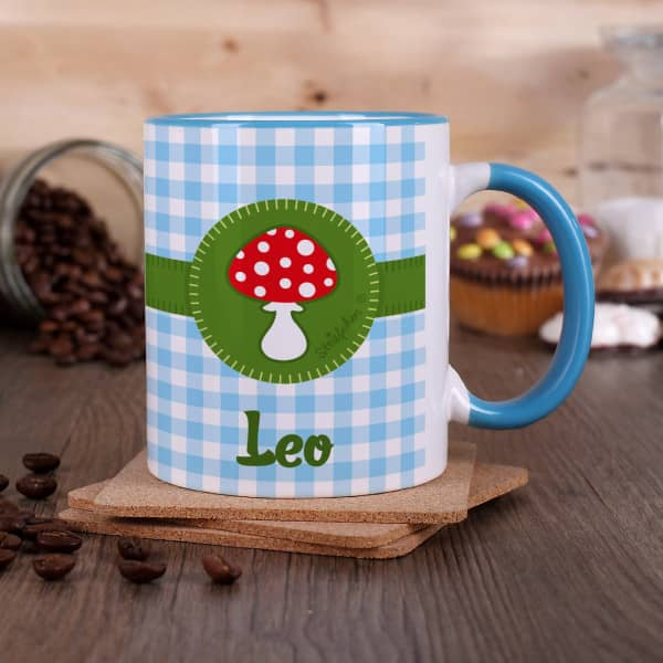 Diese Tasse ist perfekt für kleine Glückspilze