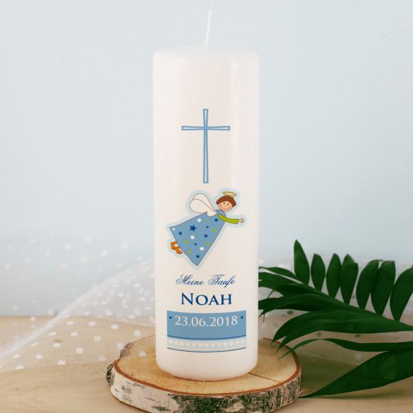 Weiße Kerze Schutzengel