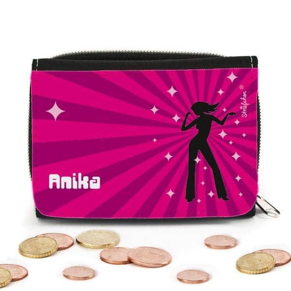 personalisierte Geldbörse für Mädchen
