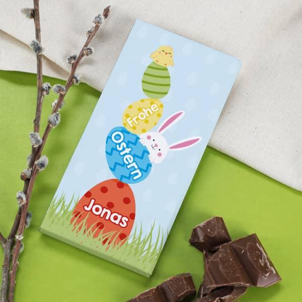 Osterschokolade mit deinem Namen