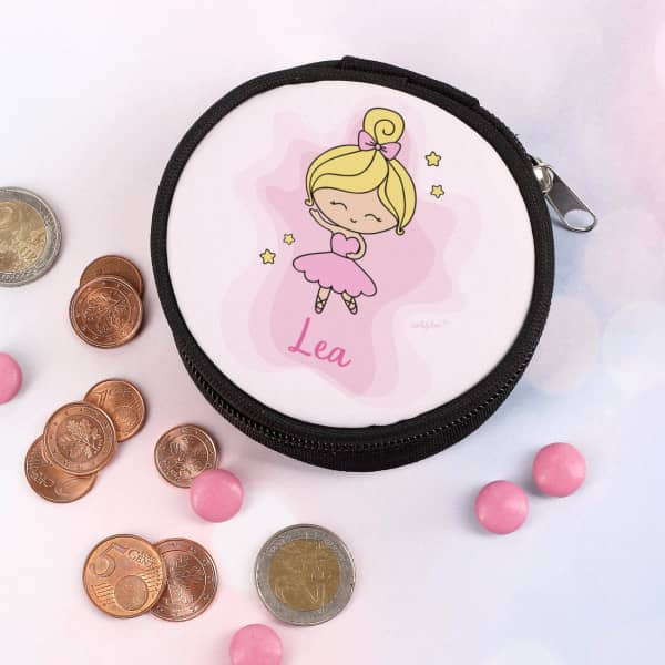 Geldbörse mit Ballerina bedruckt