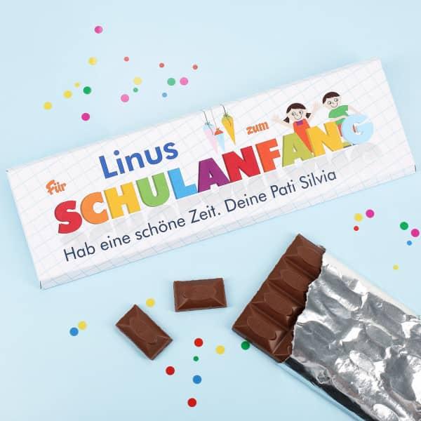 Schokolade für den Schulanfang