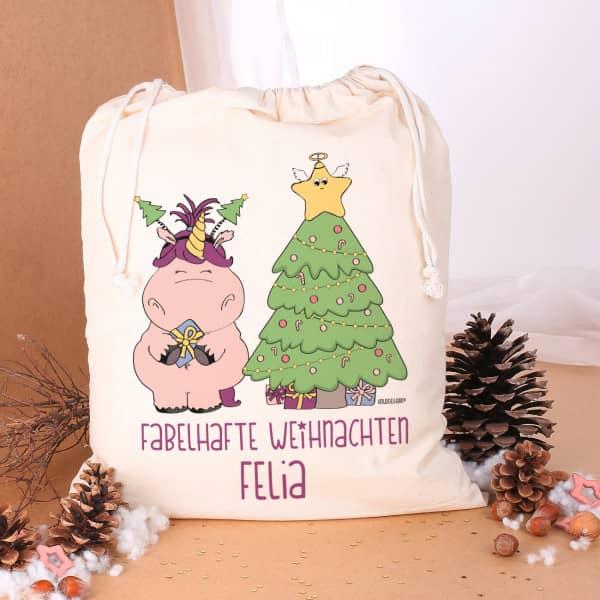 Knuddelhorn Geschenksack mit Ihrem Namen