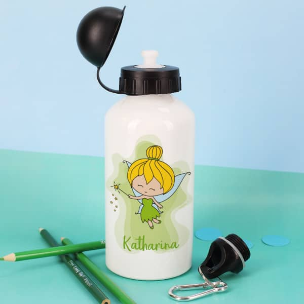 Trinkflasche - Kleine Fee mit Zauberstab