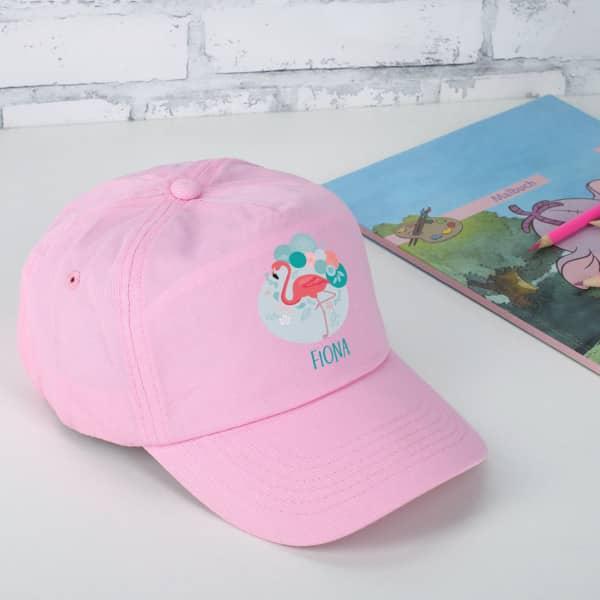 Flamingo Basecap in Rosa