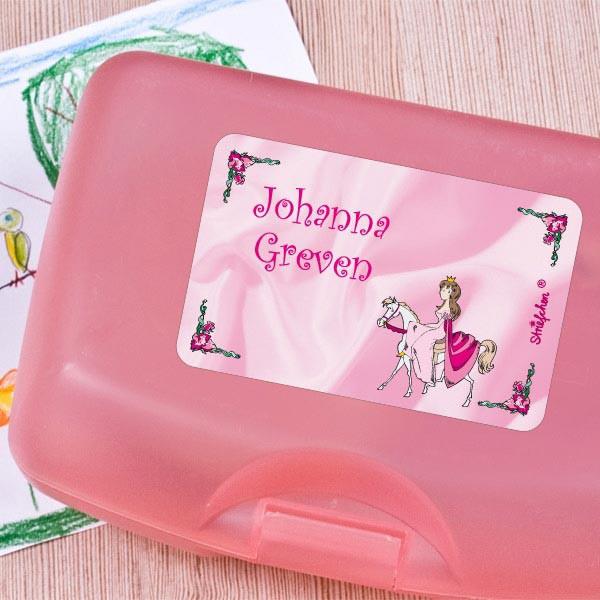 100 teiliges Sticker-Set Prinzessin auf Pferd