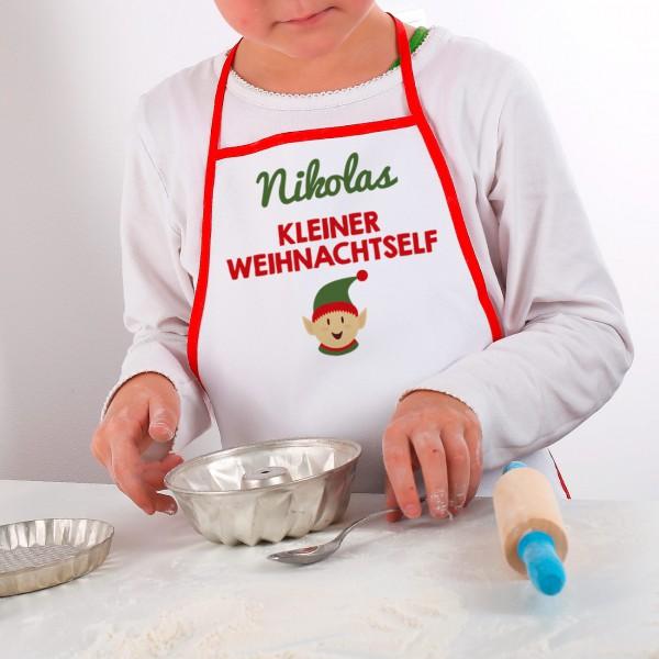 """Schürze für Jungs """"Weihnachtself"""""""