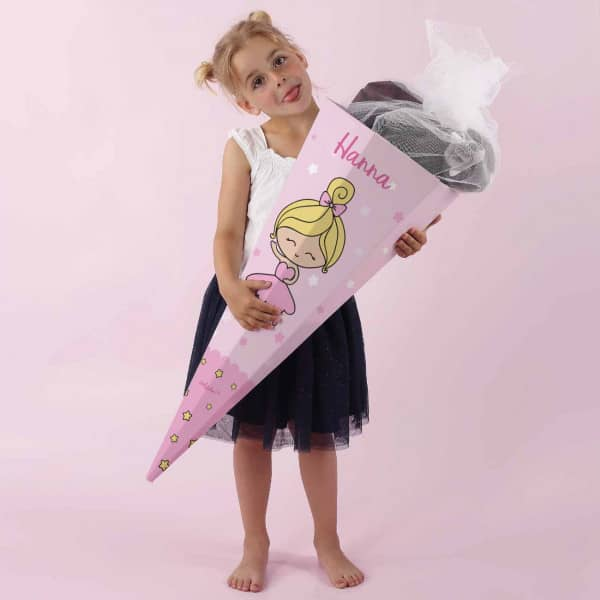 Ballerina-Zuckertüte mit Wunschname