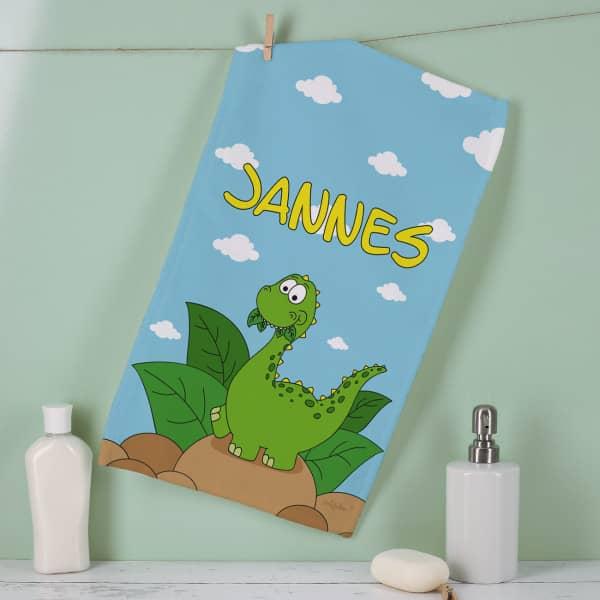 Dino-Handtuch in zwei Größen