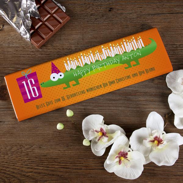 300 Schokolade als Geeschenk zum Geburtstag