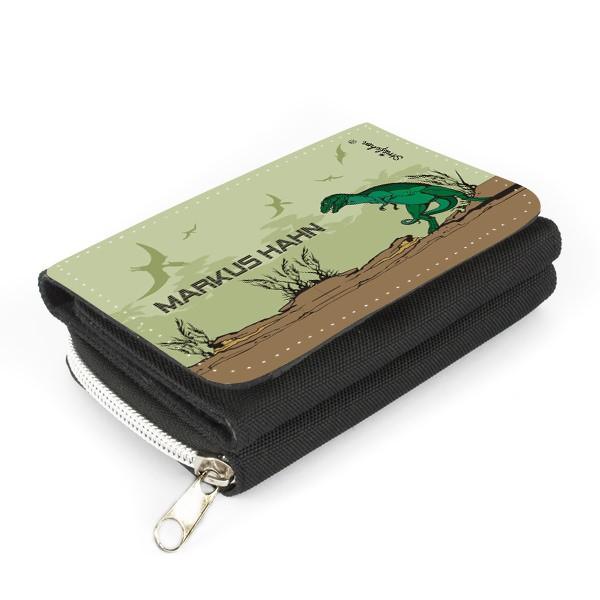 Geldbörse mit Tyrannosaurus Rex
