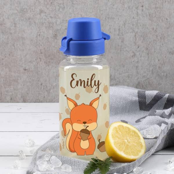 0,4L Trinkflasche mit Eichhörnchen-Motiv