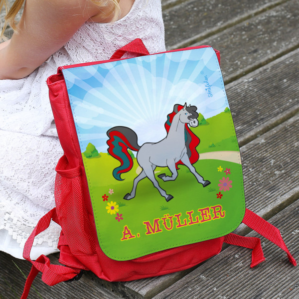 Kinder Rucksack Pferd Name