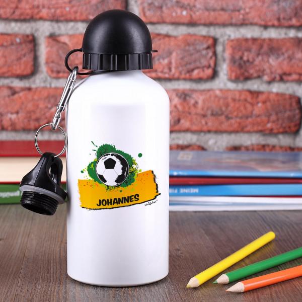 Trinkflaschen für kleine Fußballer