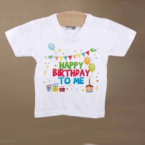 T-Shirt zum Geburtstag - Happy Birthday to me