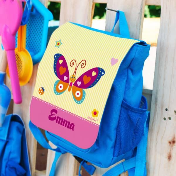 Kindergartenrucksack mit Namen des Kindes