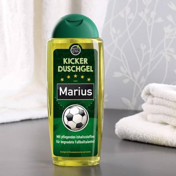 Kicker Duschgel mit Name